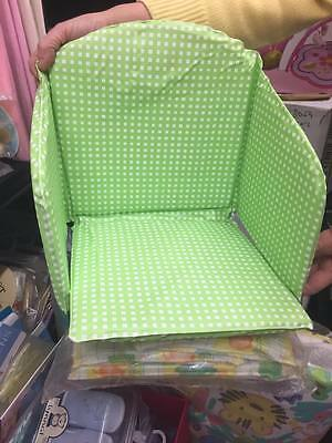 Padded highchair liner for Wooden Highchairs or Replacement padding
