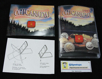 Royal Canadian Mint 1999 Oh Canada 7 coin uncirculated set w/Loonie and Toonie!