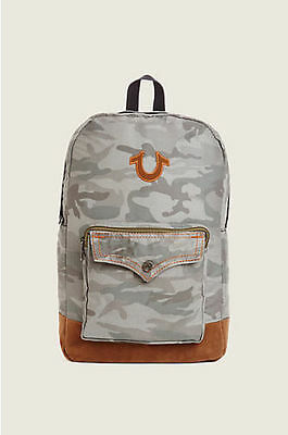 Nwt! True Religion Unisex TR Backpack Bag - S01710 $149, 100% AUTHENTIC!!!!!!!!!