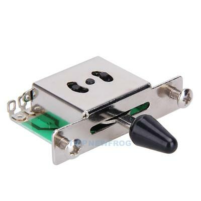 5-Way Pickup Selector Switch Toggle Leaver Switches For Fender Tele Strat Guitar