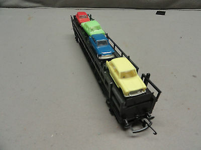 traing transcontinental r.3423 c.p rail auto transporter wagon porte-autos 5 car