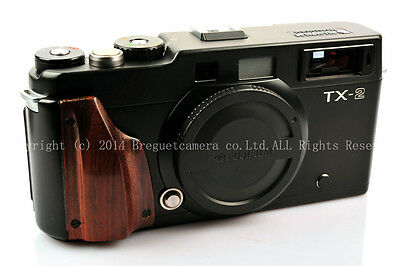 Brand new hand-made Red Wood Grip for Hasselblad Fuji xpan tx