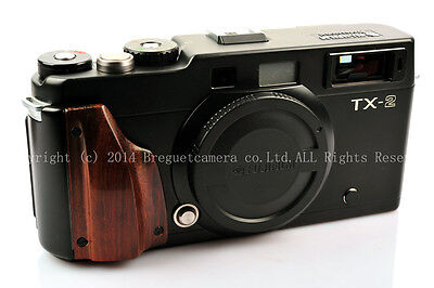 Hand-made Red Wood/Hard wood Grip for Hasselblad xpan Fujifilm tx-1 Tx-2