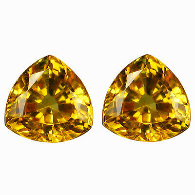 1.29 Ct 100% Stunning Rarest Natural Top Luster Yellow Sapphire Cut Gemstone