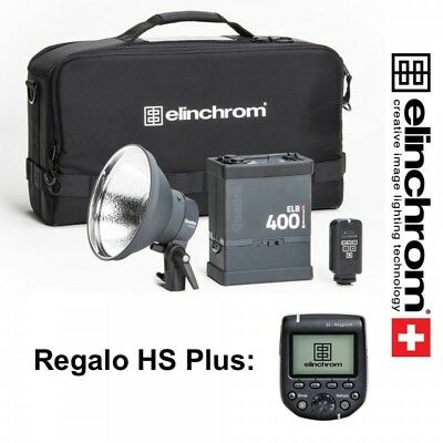 Kit Elinchrom ELB 400 Action To Go con El-Skyport plus + Skyport HS Plus Nikon
