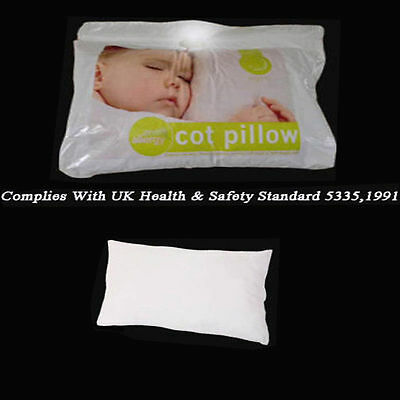 Anti-Allergy Cot Bed Pillow - Nursery, Junior, Kids, Baby, Toddler Soft Filling