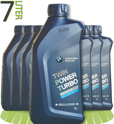 7 x 1 L BMW TwinPower Turbo 5W-30 Motoröl Longlife-04 7 Liter 83212465849