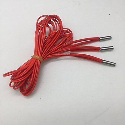 HICTOP 3 Pieces Cartridge Heater 24V 40W for 3D Printer Prusa Mendel