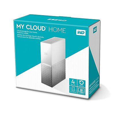 "Hard Disk Esterno Western Digital My Cloud 3,5"" 4Tb  Usb 3.0,wdbctl0040Hwt-Eesn"