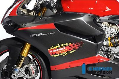 Ilmberger MATT Carbon Fibre Left Right Fairing Panels Ducati 1199 Panigale 2012