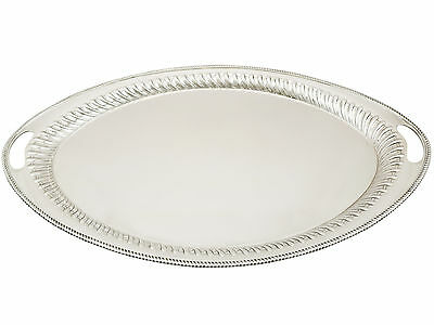 Sterling Silver Tea Tray - Antique Victorian