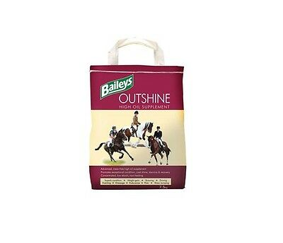 Baileys Outshine High Oil Supplement 6.5kg Horse Food Feed