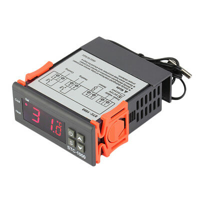 Two Relay Output Digital Temperature Controller Thermostat with Sensor Irf