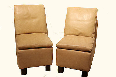 Art Deco Leder Fauteuils - Art Deco Leather Fauteuils
