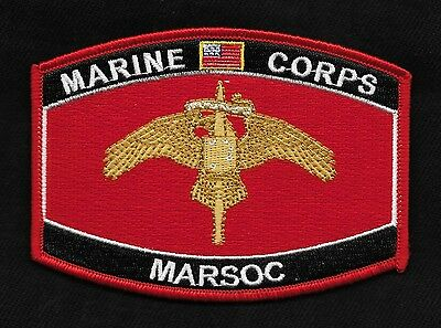 """USMC """"MARSOC""""  MOS Military Patch Marine Corps Special Operations Command"""