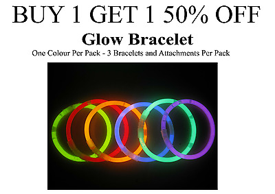 Glow in the dark Bracelet Neon Night Hen Stag drink party chain necklace NEW