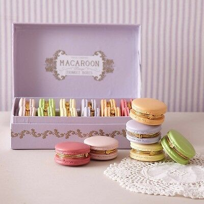 Macaroon Trinket Box Various Colours