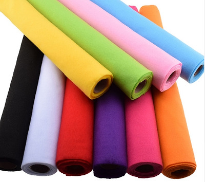 Felt Fabric 45x90cm Wool Feel 2mm thickness Non Woven registered mail