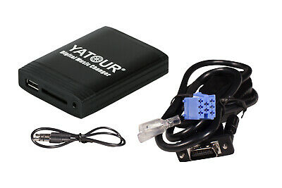 Yatour USB SD AUX MP3 Adapter + Bluetooth Adapter RD3 Citroen und Peugeot