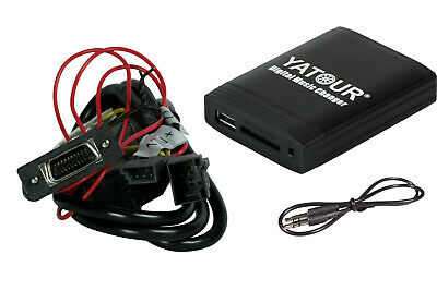 Yatour USB SD AUX MP3 Adapter BMW nur für 16:9 Professional Navigation