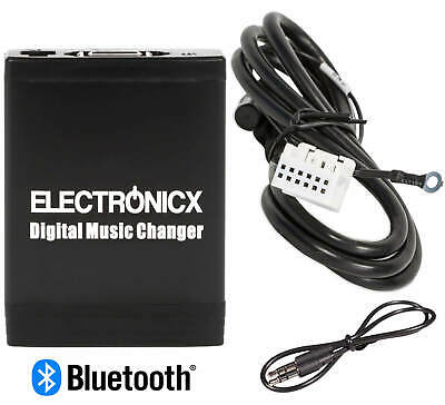 Adapter USB MP3 AUX Bluetooth Freisprechanlage VW, Skoda, Audi und Seat 12 Pin