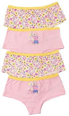 Girls Peppa Pig Pants Briefs Knickers Five Pack Ex Store 2 Years To 6 Years
