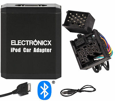 Adapter AUX Bluetooth iPhone iPad iPod BMW Mini Rundpin