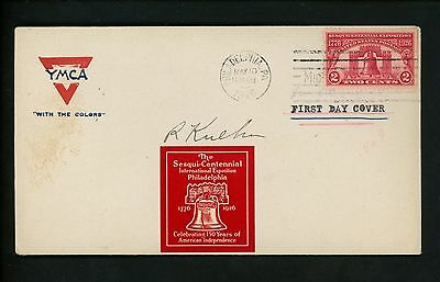 US FDC #627 Unknown M-7A 1926 Philadelphia PA Sesquicentennial Exposition