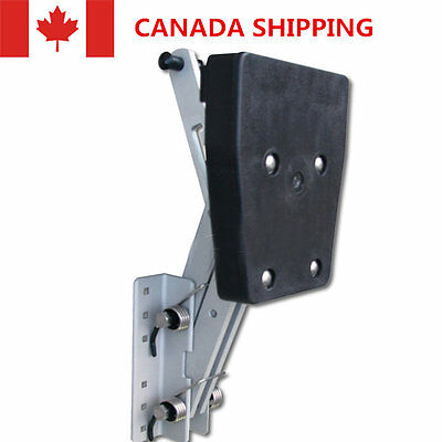 CA Heavy Duty Aluminum Outboard 2 Stroke Kicker Motor Bracket Mounting Board New