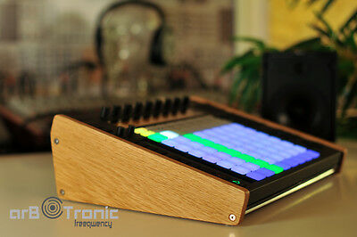 Ableton Push 1 Echtholz Seitenteil Wooden Side Panel Desktop Stand End Cheeks LO