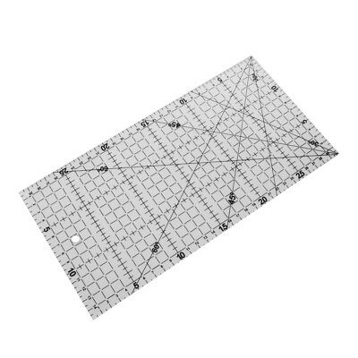 30x15cm Acrylic Ruler Quilt patchwork Acrylic Template Quilting Crafts Tools