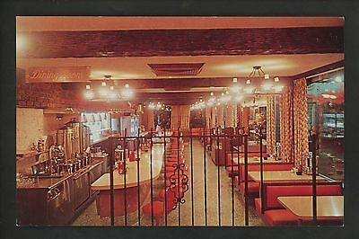 New York NY postcard Long Island, Syosset, Town & Country Diner restuarant