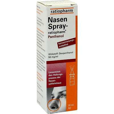 NASENSPRAY ratiopharm Panthenol   20 ml   PZN1970611