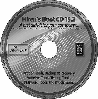 Hiren's Boot CD Restore Repair PC Boot on any Windows 10, 8.1, 8, 7, Vista, XP ✅