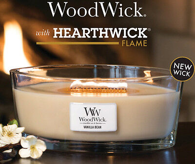 Woodwick Hearthwick Jar Candle - Various Fragrances - NEW Spring 2017 Fragrances