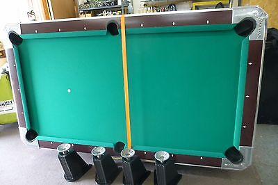 Valley Cougar 7' Coin-Operated Commercial Bar Size Pool Table
