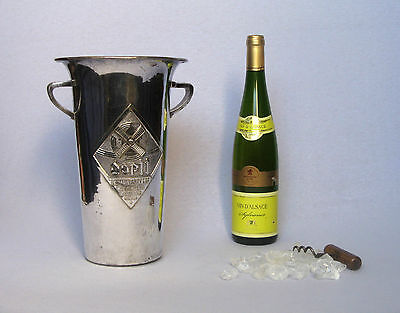 """VINTAGE FRENCH WHITE WINE ICE BUCKET """"DOPFF"""", from the 1930s"""