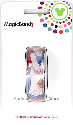 NEW Disney World Belle & Lumiere Red Magic Band Beauty and the Beast MagicBand 2
