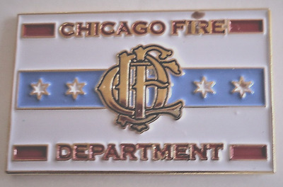 "Chicago Fire Department""lapel Pin"""