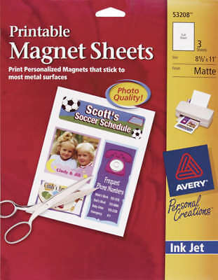 Printable Magnet Sheets 53208