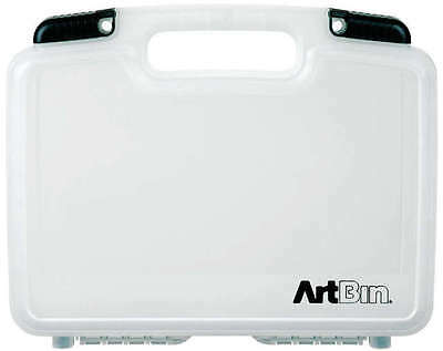 """ArtBin Quick View Deep Base Carrying Case 12""""X3.25""""X9.875"""" Translucent 6977AB"""