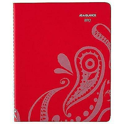 "AT-A-GLANCE Weekly / Monthly Appointment Book / Planner 2017, 8-1/2 x 11"", New"