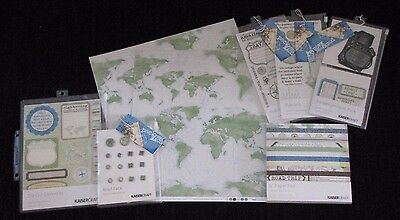 Kaisercraft 'PACK YOUR BAGS' Travel/Holiday Embellishments 8pcs KAISER *Deleted*