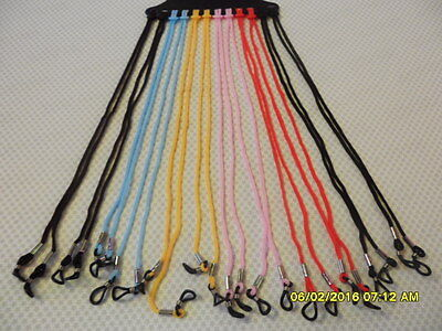 1 Sunglass  Reading Glass Glasses Nylon Neck Cord Strap String Holder Lanyard