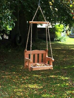 Swing Seat Bird Feeder - Regency Swing Seat Feeder FREE DELIVERY - Not a Copy