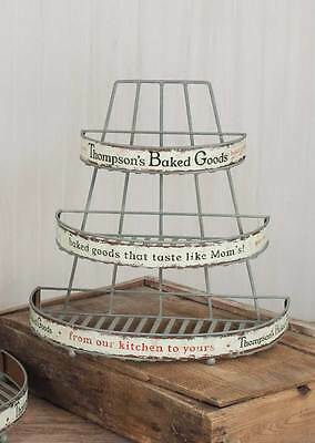 Farmhouse/Cottage/Primitive/Country Small Thompson's Baked Goods Rack