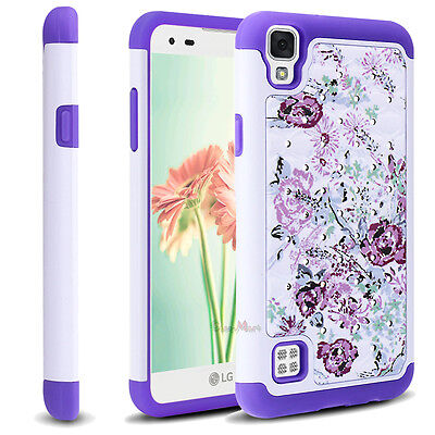Shockproof Hybrid Rubber Dual Layer Silicone Armor Case Cover for Cellphones