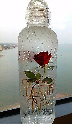 Limited Edition Rare Beauty and the Beast Collectible Bottle Tumbler Exclusive