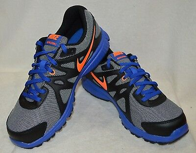 Nike Revolution 2 (GS) White/Orange/Blue/Blk Boy's Running Shoes - Size 5Y NWOB