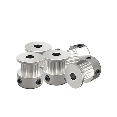 8Pcs 5Pcs 2GT 20 Tooth 20T 5mm Width Bore Aluminum Timing Pulley for 3D Printer